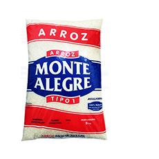 Arroz Tp1 Monte Alegre 5kg