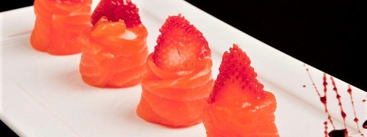 Especial Primavera: salmão regado a morangos